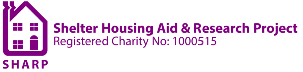 SHARP – Shelter Housing Aid & Research Project – Charity No. 1000515